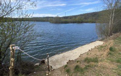 Aménagement du plan d'eau PROST à Osselle