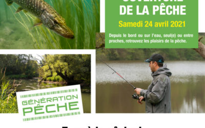 Ouverture de la pêche du brochet et de la perche